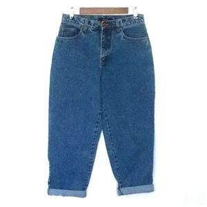 Vintage Bill Blass Medium Wash High Rise Mom Jeans